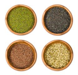 Indian beans : Mung , Urad , lentils