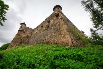 Gothic castle Stara Lubovna in Slovakia