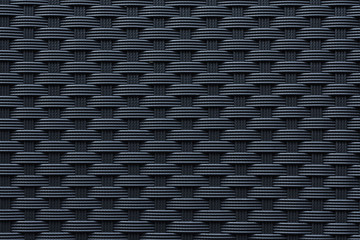 Modern black weave texture