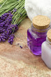 Spa wellness products of lavender