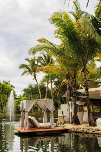 Leinwandbild Motiv Caribbean resort