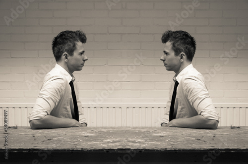 mirroring in the communication conversation - 54089497