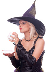 Witch predicts the future