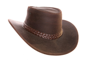 Australian leather cowboy hat
