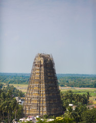 Towers of Lord Bhakthavatsaleswara r Temple