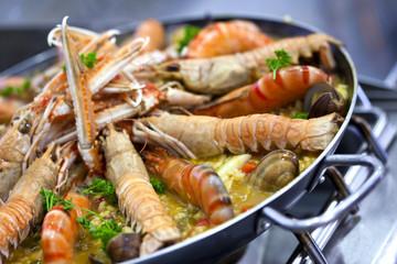 Paëlla, cuisine, gastronomie, espagne, riz, plat cuisiné