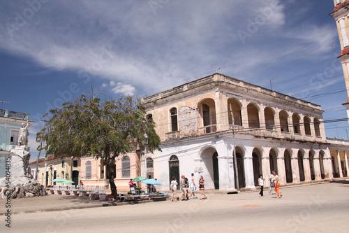 Cuba - Remedios, plaza José Marti