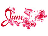 June the name of the month