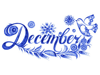 December the name of the month