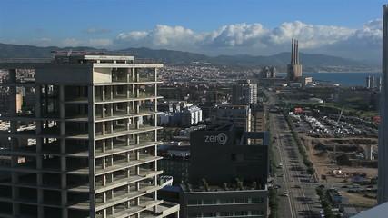 Панорамный вид Барселоны