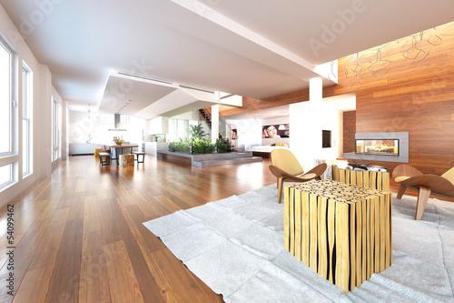 Luxury Loft Area