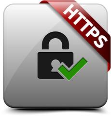 HTTPS Secure button