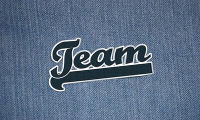 Aufnäher Team