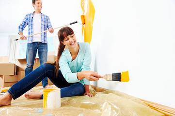 painting new home