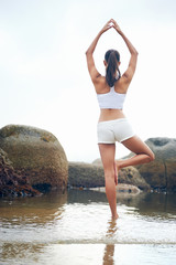 yoga lifestyle woman
