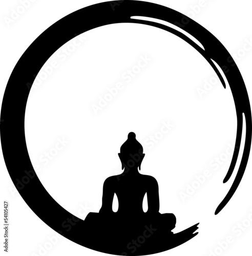 Fototapeta Enso Zen, Meditation, Buddha