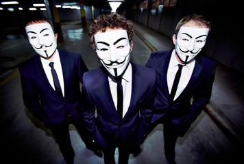 Masked guys