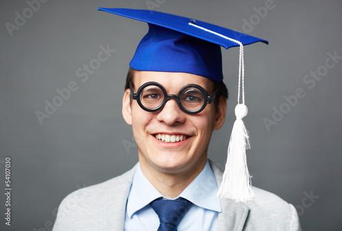 Clever graduate