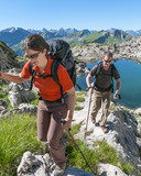 Fototapety Wandern in imposanter Natur