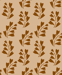 Foolproof Floral brown  patterm
