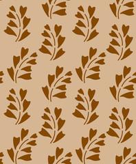 Foolproof Floral brown  patterm
