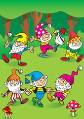 dancing gnomes