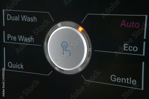 Washing machine control pannel