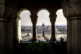 Parliament from Fisherman's Bastion, Budapest