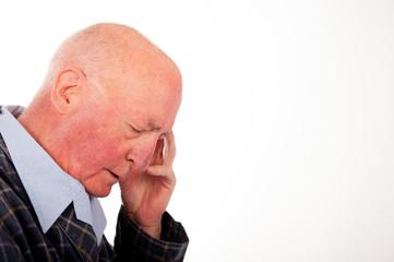 Elderly Man Not Feeling Well