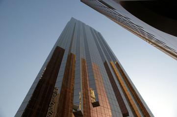 Modern skyscrapers, Sheikh zayed road, Dubai