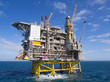 canvas print picture - Offshore platform