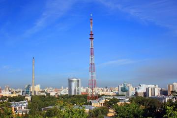 Вид на город Екатеринбург