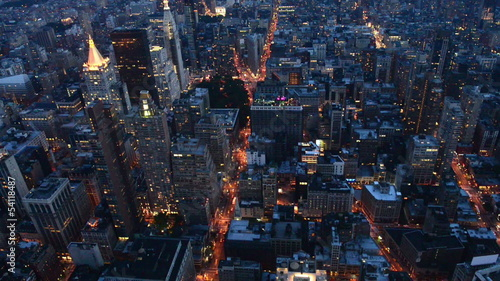 Cityscape of New York, USA