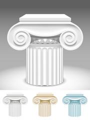 Capitals of columns