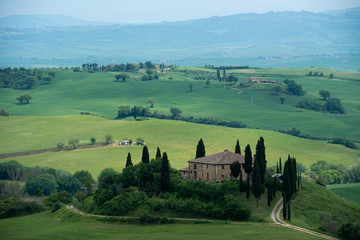 Typical Tuscan landscape, Italy
