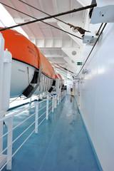 Equipements de sauvetage Ferry