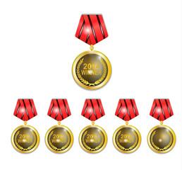 Medalion winner set