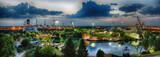 München Olympiagelände Panorama
