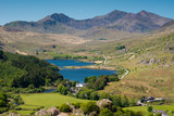 Snowdonia National Park and mount Snowdon ,Wales