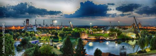 München Olympiagelände Panorama - 54123843