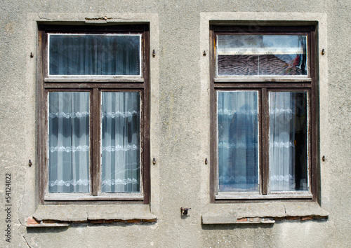 canvas print picture fenster1107a