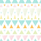 Vector abstract ikat triangles stripes seamless pattern - 54125878