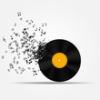 Music icon vector illustration - 54127049