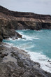 rock strata, eroded west coast of Fuerteventura