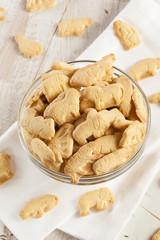 Crunchy Lemon Animal Cracker Cookies