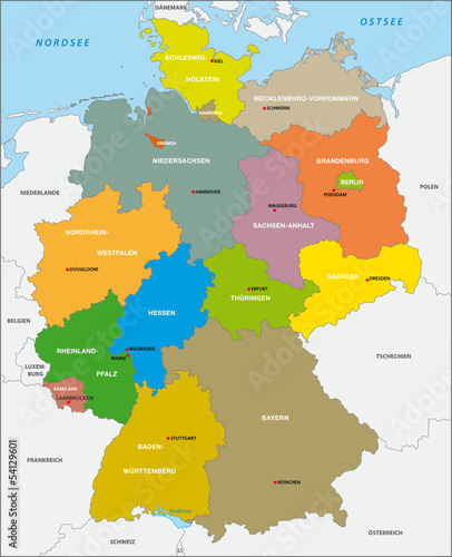Deutschland, Bundesländer