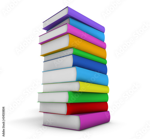 Stack Of School Books