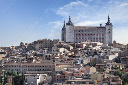 Ville de Tolède Espagne Alcázar de Tolède