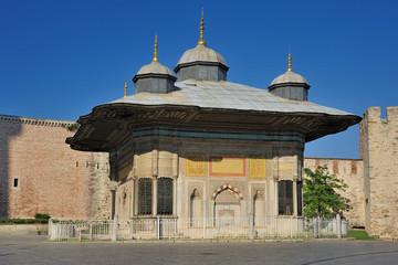 Fountain Kiosk of Ottoman Sultan Ahmed III - Istanbul