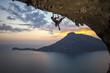 Fototapeten,bergsteiger,klettern,klettern,fels